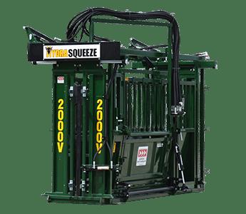 Arrow Farmquip 2000V Hydraulic Vet Squeeze Chute