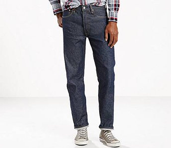 Levi S 501 Original Shrink To Fit Jeans In Rigid High