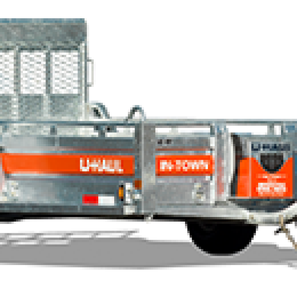 Uhaul 5x9 Utility Trailer With Ramp High Plains Cattle