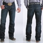Image of men's Carter 2.4 mid rise, relaxed jeans from Cinch