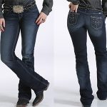 Image of women's abby, mid rise, slim boot cut jeans from Cruel Girl