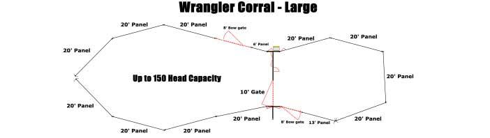 Linn Post & Pipe Wrangler Corral Large