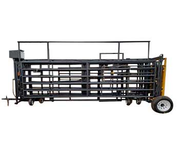 LINN POST & PIPE BULLDOG WRANGLER PORTABLE CORRAL