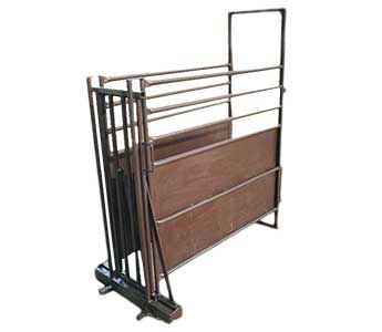 COW COUNTRY 5FT CALF CAGE WITH NO BACK