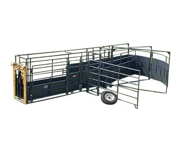 LINN POST & PIPE 28′ PORTABLE TUB & ALLEYWAY PRO SYSTEM