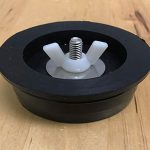 "Miraco 2.7"" Rubber Drain Plug with Bolt"