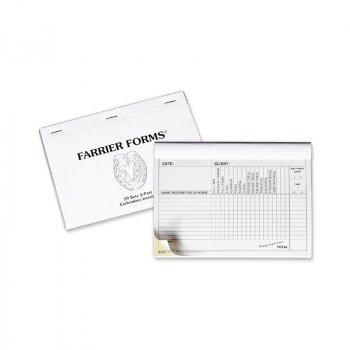 farrier tools farrier equipment Anvil Brand Farrier Forms Invoice Book