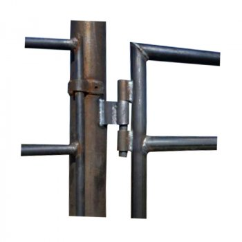 Linn Post & Pipe Continuous Fence Weld-On Hinge Set