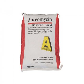 bag of Zoetis Aureomycin 50 Granular A