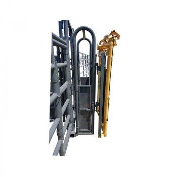 Linn Post & Pipe Headgate Attachment Option for Wrangler Corrals