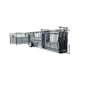 Pearson Livestock Equipment Portable Chute with Alley and Tub