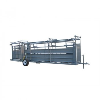 Pearson Livestock Equipment Portable Tub and Alley with Wheel Kit
