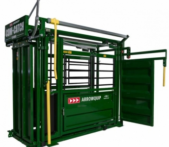 ARROWQUIP COM CATCH 6100 MANUAL SQUEEZE CHUTE AMBIDEXTROUS DOOR PANEL