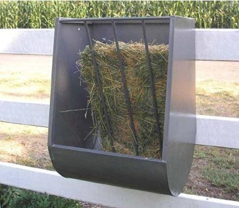 ASI Horse Hook Over Hay and Grain Feeder
