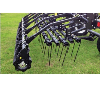 Aerway Bar Coil Tines with Single Roller