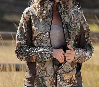 Cinch Camouflage Concealed Carry Bonded Jacket