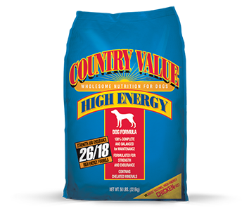 Country Value High Energy Dog Formula