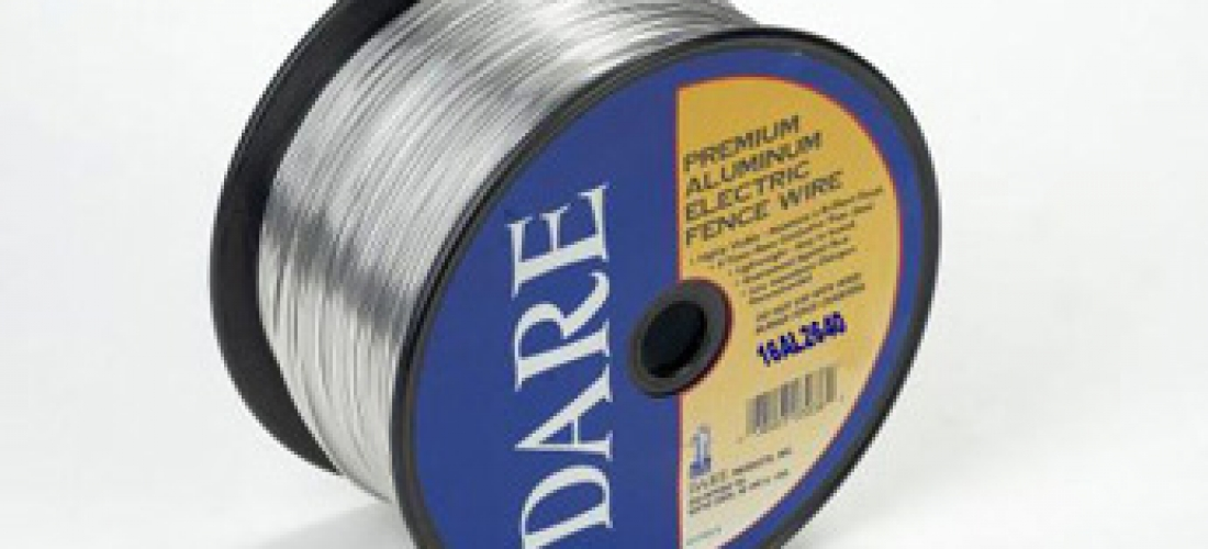 DARE Aluminum Electric Fence Wire | High Plains Cattle Supply ...