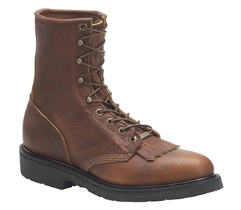Double H Boot 9712 8″ Whiskey Leather Work Lacer