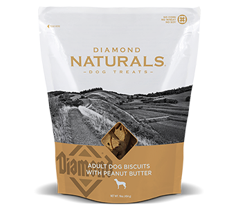 Diamond Naturals Adult Dog Biscuits with Peanut Butter