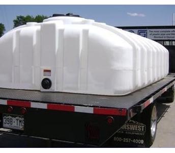 Dillon Company 1275 Gallon Flat Bottom Poly Water Tank