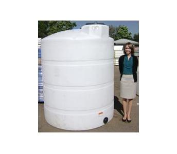 Dillon Company 1000 Gallon Flat Bottom Vertical Storage Tank