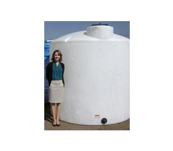 Dillon Company 2100 Gallon Flat Bottom Vertical Storage Tank