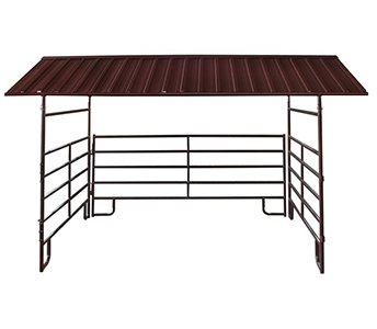 Hutchison Western 12′ x 12′ Horse Shelter