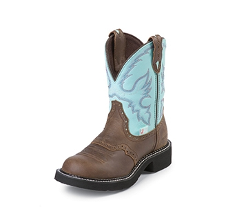 JUSTIN BOOTS WOMEN'S BAY APACHE WATERPROOF GYPSY BOOTS L9915