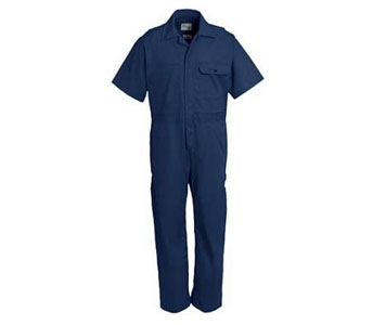 Key Unlined Coverall Short Sleeve