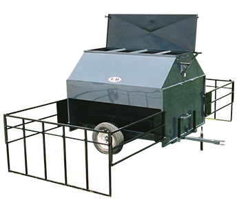 L-H Manufacturing 120-BUSHEL PORTABLE CREEP FEEDER