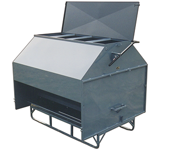 L-H Manufacturing 160-Bushel Stationary Creep Feeder