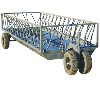 L-H Manufacturing 20′ Wagon Feeder