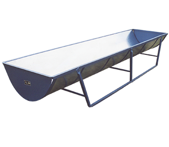 L-H Manufacturing Round Bottom Bunk Feeder