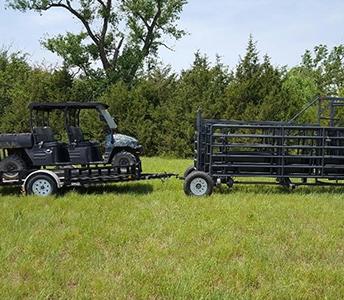 LIGHT DUTY REAR ATV TOW HITCH OPTION