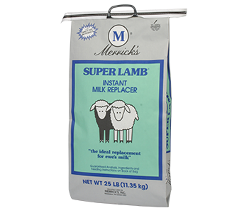Merrick's Super Lamb Milk Replacer