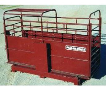 WW Livestock Systems Paul Scale LFT-3000S Single Animal Scale