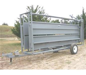 Pearson Livestock Equipment Portable Alley Trailer