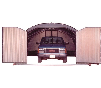 Port-A-Hut 14′ Portable Shelter with Full Front Doors