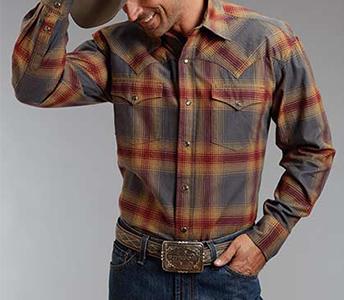 Stetson Cuyanhoga Plaid Shirt Jacket