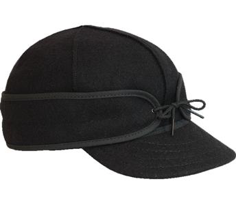 Stormy Kromer Original Men's and Women's Hat – Black