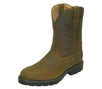 Twisted X MWP0001 Pull-on Work Boot in Distressed Saddle