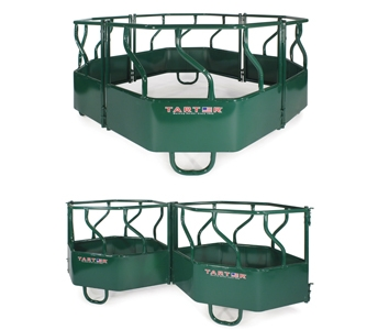 Tarter 4 Piece S Bar Flex Round Bale Feeder