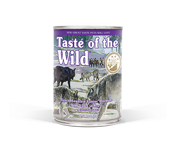 Taste of the Wild Sierra Mountain Canine Canned Food