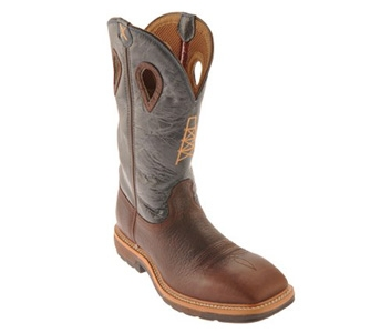 Twisted X Men's Lightweight Cowboy Work Boots