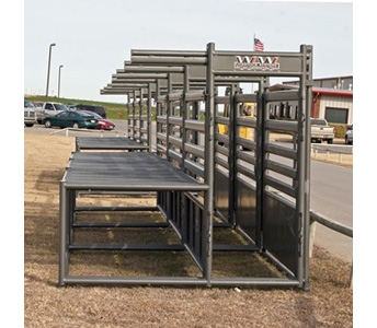WW Livestock Systems Bucking Alley with Catwalk