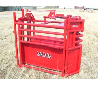 WW Livestock Systems Calf Roping Chute