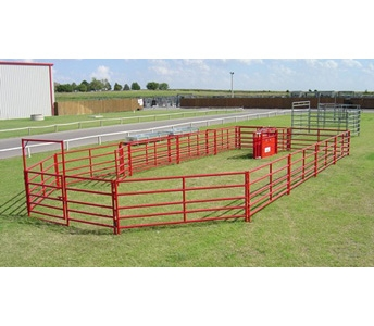 WW Livestock Systems Roping Arena