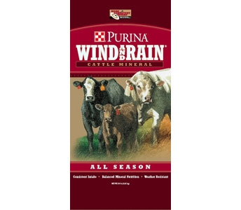 Purina Wind and Rain All Season Cattle Mineral