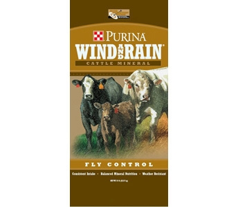 Purina Wind and Rain Fly Control Cattle Mineral